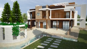 Design, Detail construction drawings of Residential Building for PraggyaShree Niwas, Kathmandu.