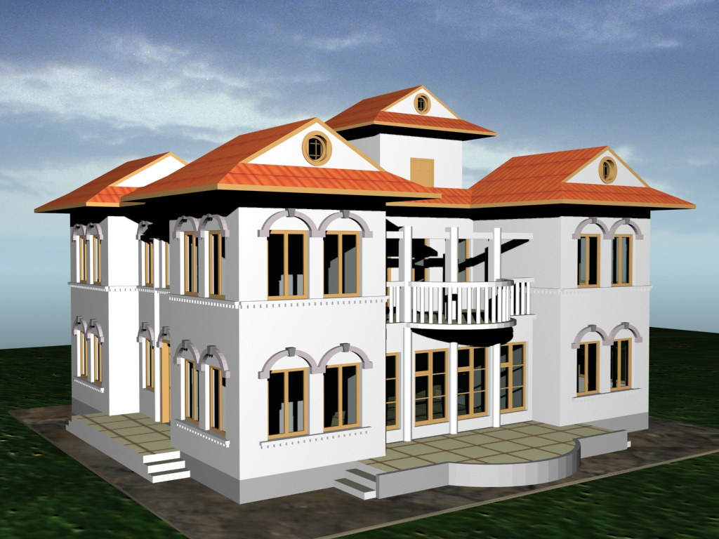 Design detail construction drawings and complete project for Residential building drawings download